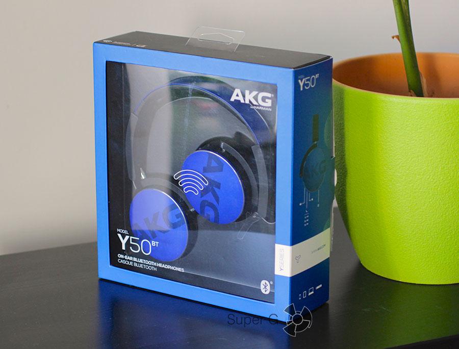 Комплектация AKG Y50BT