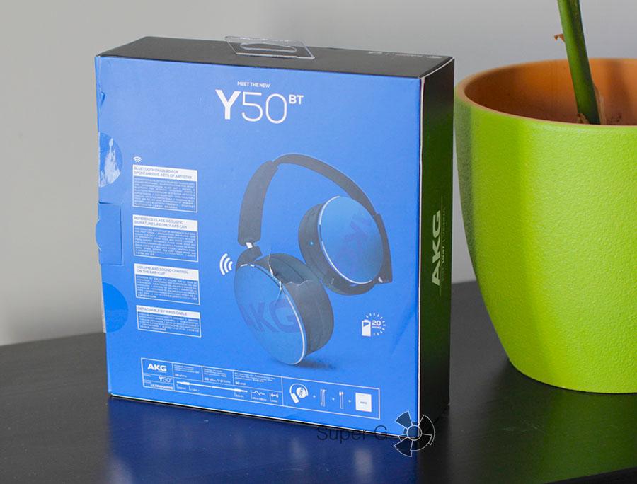 Коробка AKG Y50BT
