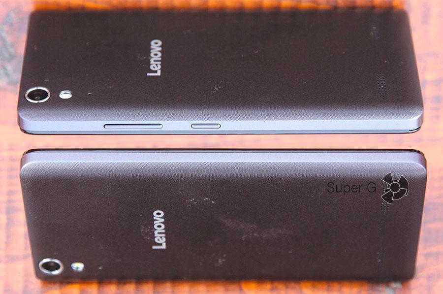 Боковые стороны смартфона Lenovo A6010 Plus