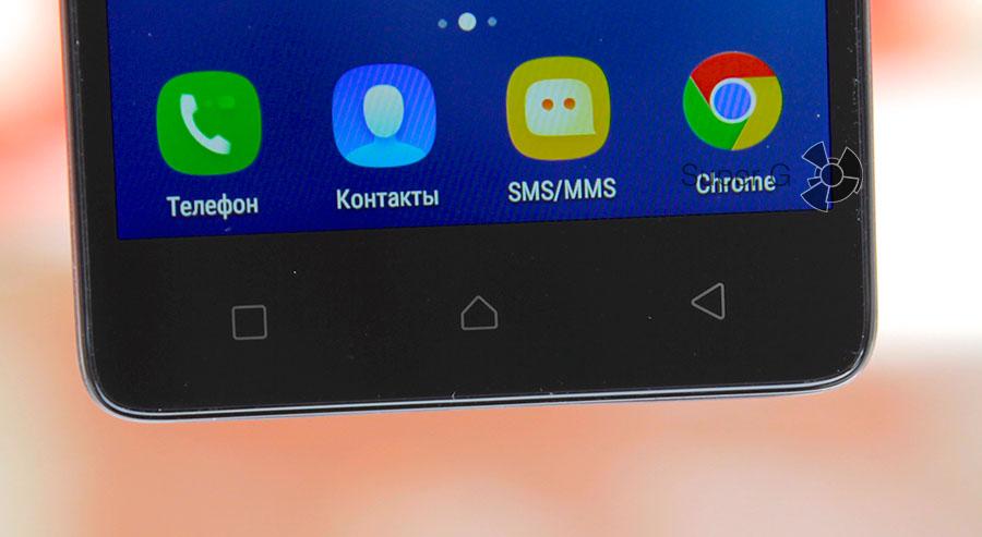Сенсорные кнопки управления Lenovo A6010 Plus