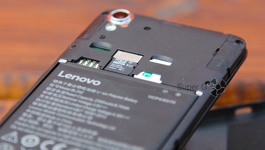 Поддержка двух SIM-карт в Lenovo A6010 Plus