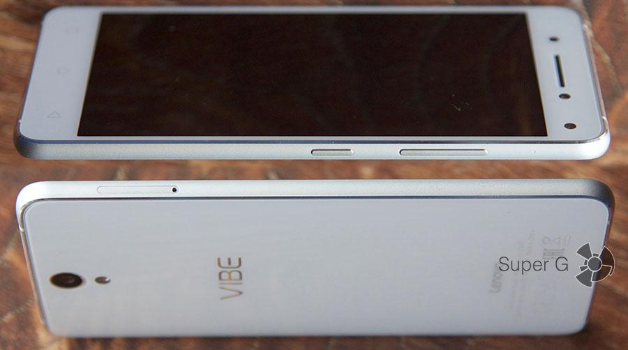 Боковые рамки смартфона из металла