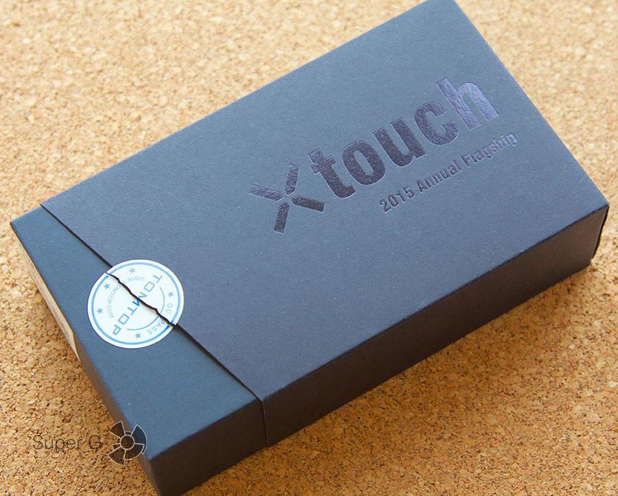 Коробка из-под Bluboo Xtouch