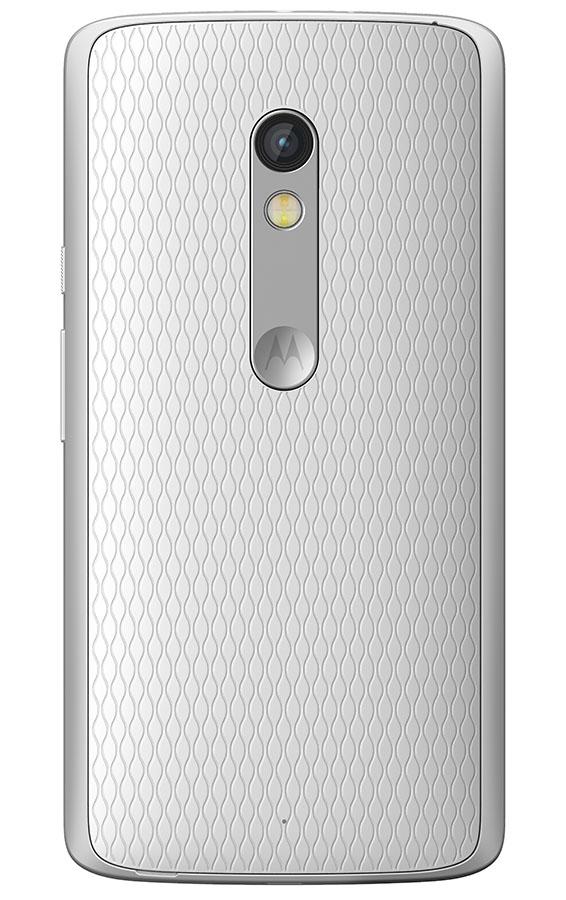 Moto X Play белого цвета