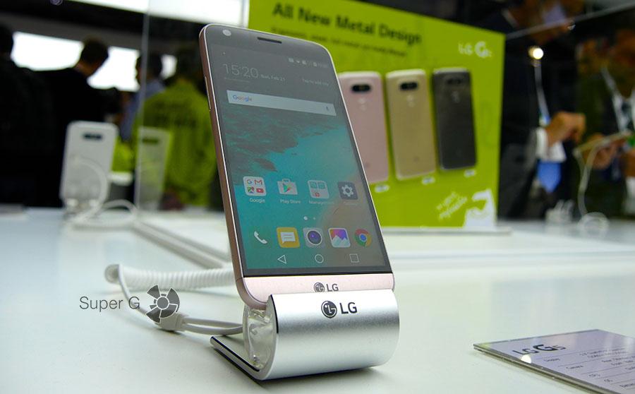 Характеристики LG G5