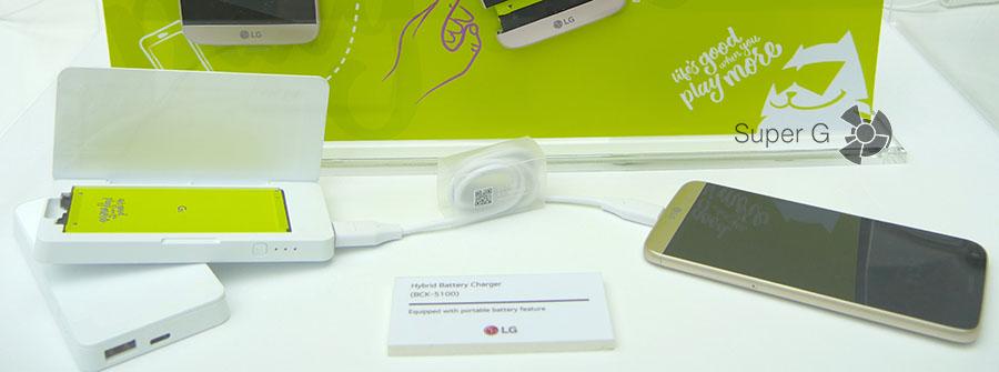 Зарядное устройство для аккумулятора LG G5