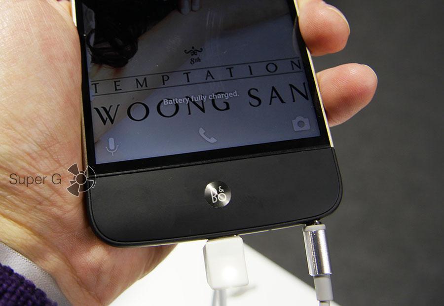 Hi-Fi плеер для LG G5