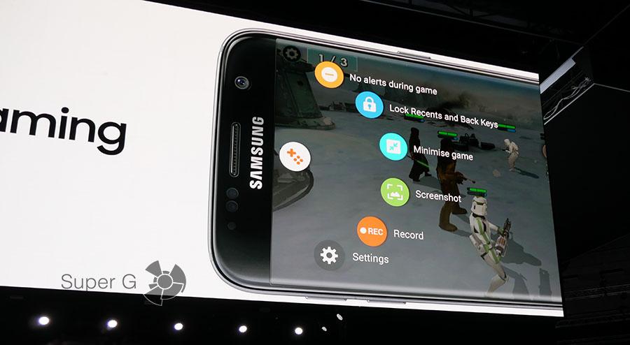 Игры на смартфоне Samsung Galaxy S7