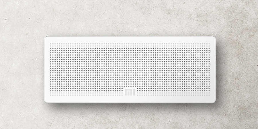 Белая Xiaomi Bluetooth Speaker (square box)