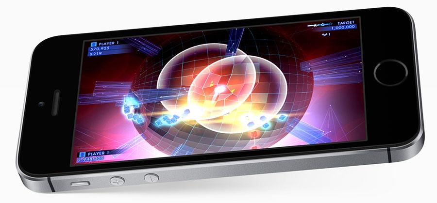 Игровая производительность iPhone SE