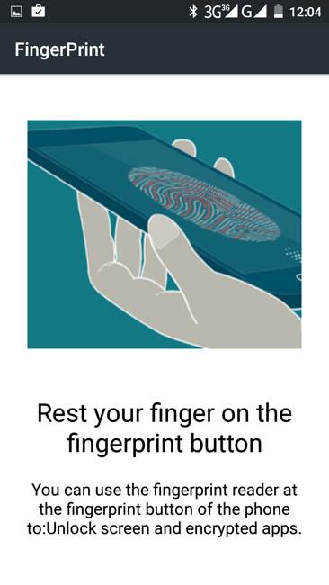Инструкция по регистрации отпечатка пальца на Cubot S600