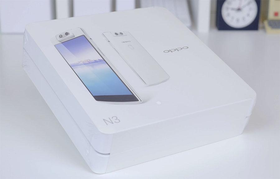 Комплектация Oppo N3