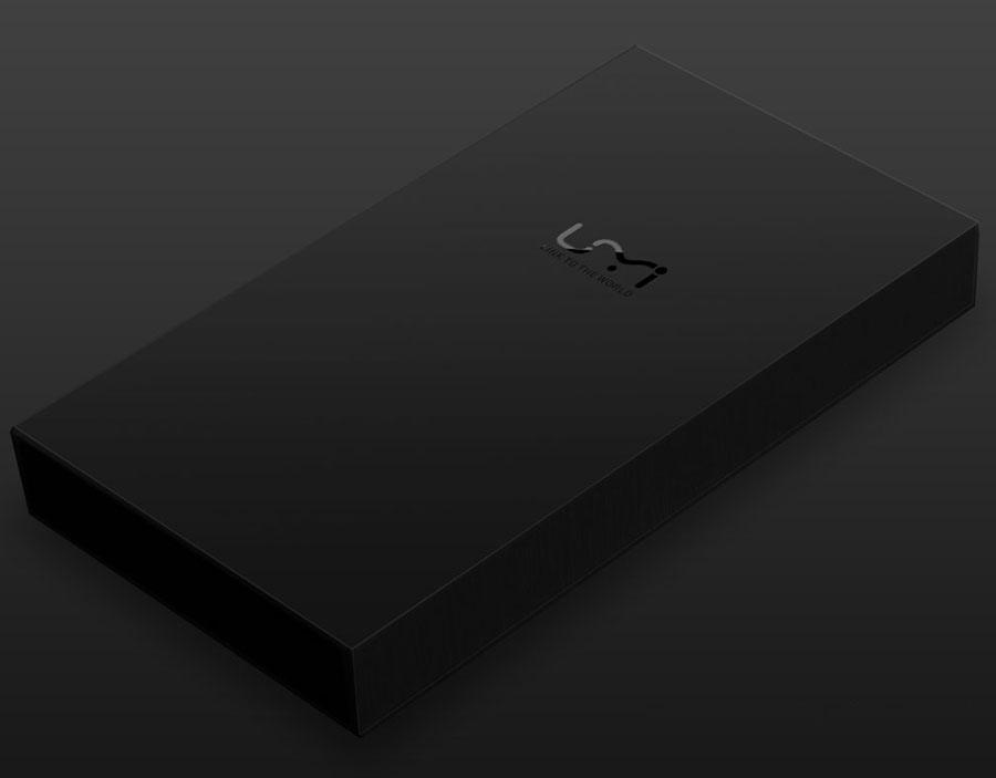 Коробки из-под чехла UMi Touch Flip Cover