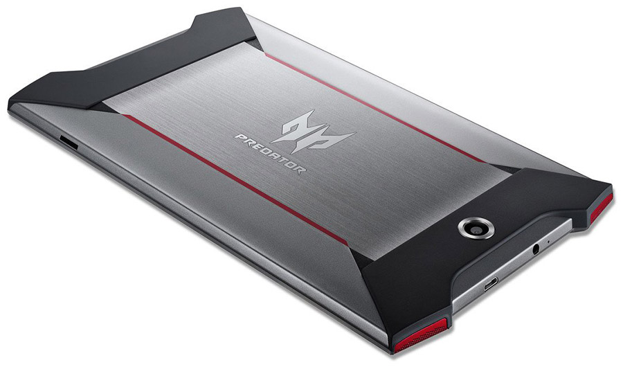 Корпус и дизайн планшета Acer Predator 8