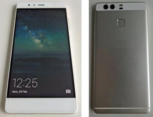 Примерно так будет выглядит один из смартфонов серии Huawei P9