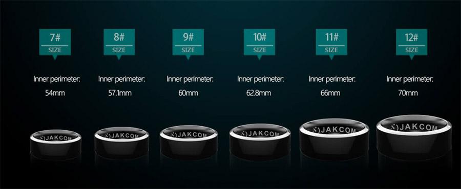 Размеры будущих колец
