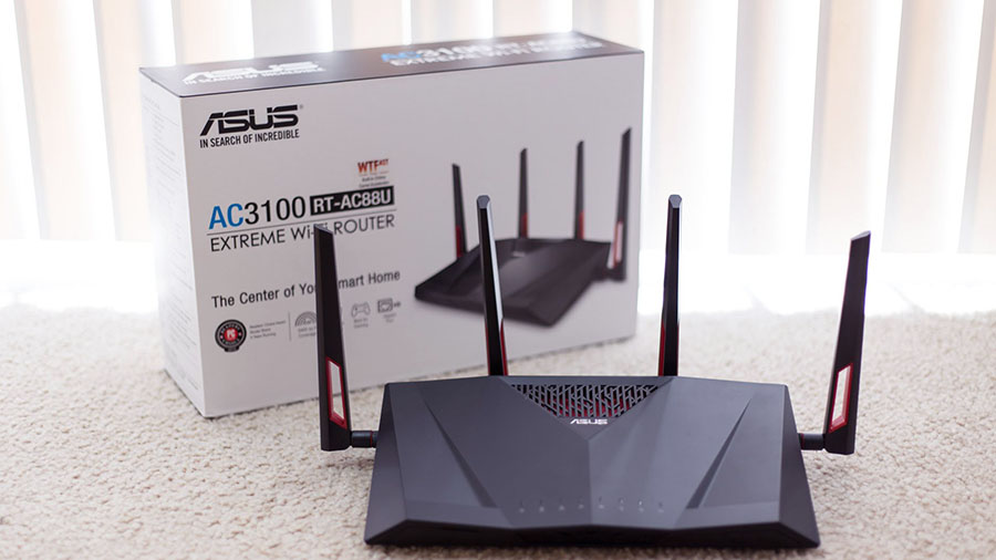 Роутер ASUS RT-AC88U с поддержкой 802.11 ac купить