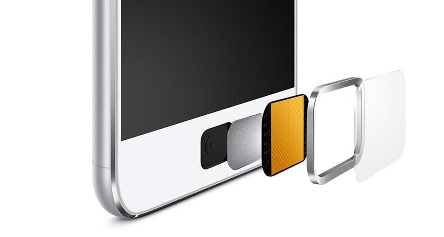 Сканер отпечатков пальцев в UMi Touch