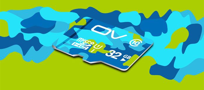 Флешка OV 32GB Micro SDHC купить