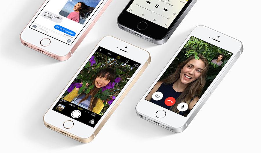Фронтальная камера iPhone SE
