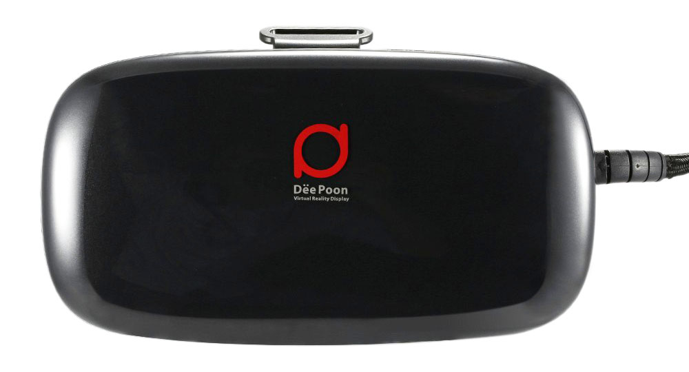 Фронтальный вид очков DeePoon E2