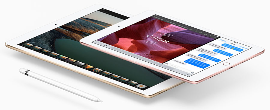 Характеристики iPad Pro 9.7 и iPad Air 2 сравнение