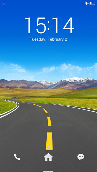 Экран блокировки Oppo N3
