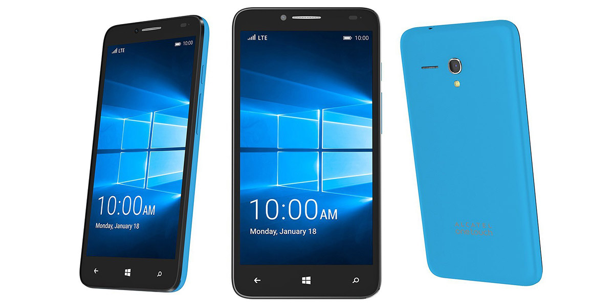 Alcatel Idol Pro 4 - смартфон на процессоре Qualcomm Snapdragon 820 и Windows 10