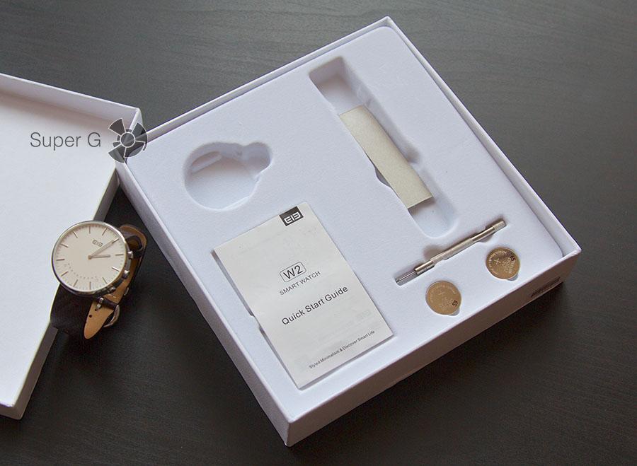 Комплектация умных часов Elephone W2