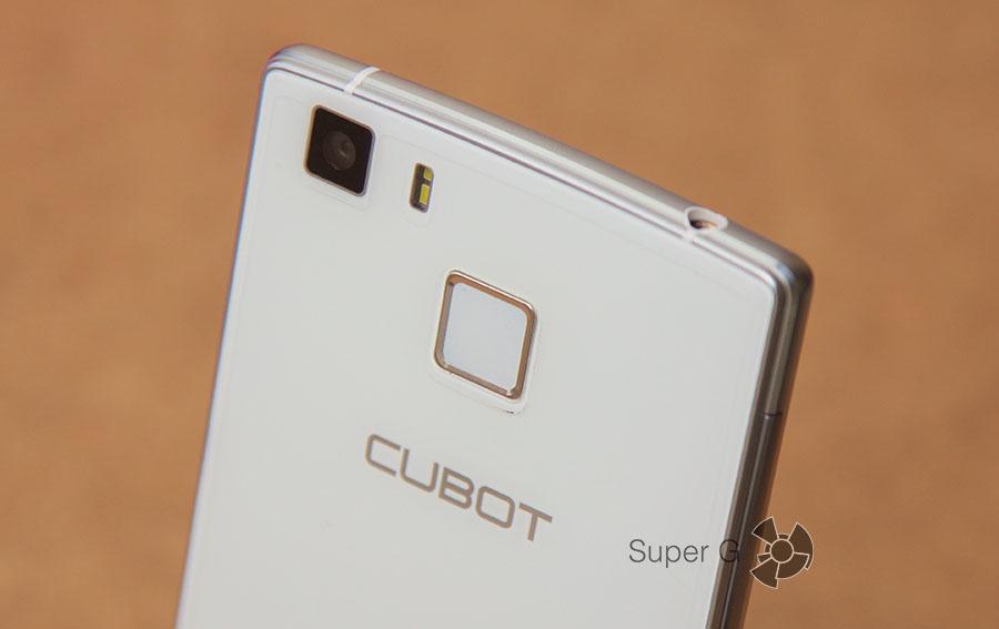 Сканер отпечатков пальцев в Cubot S600