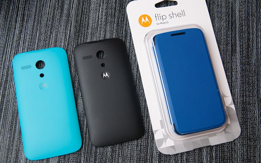 Motorola Flip Shells для Moto G