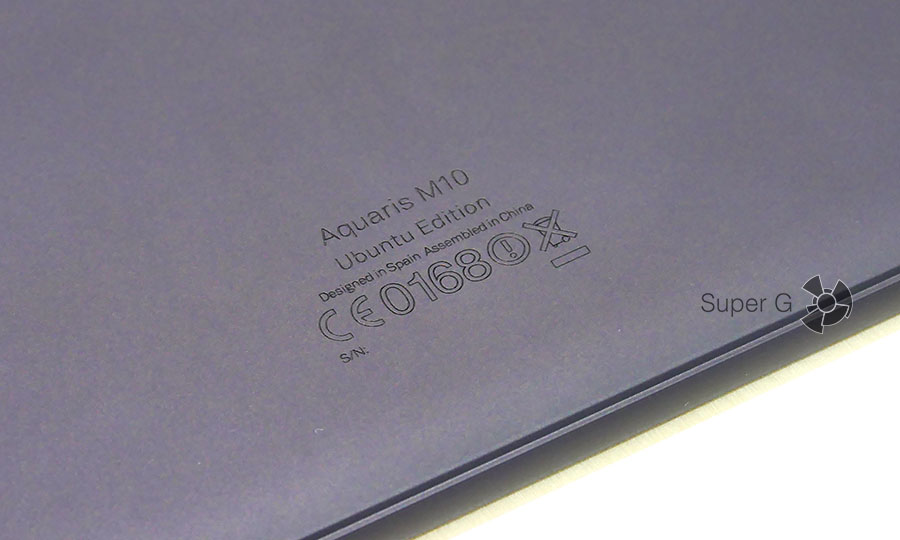 Информация о планшете BQ Aquaris M10 Ubuntu Edition