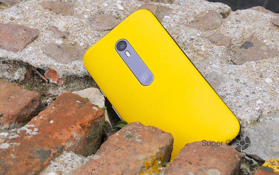 Желтый Moto G