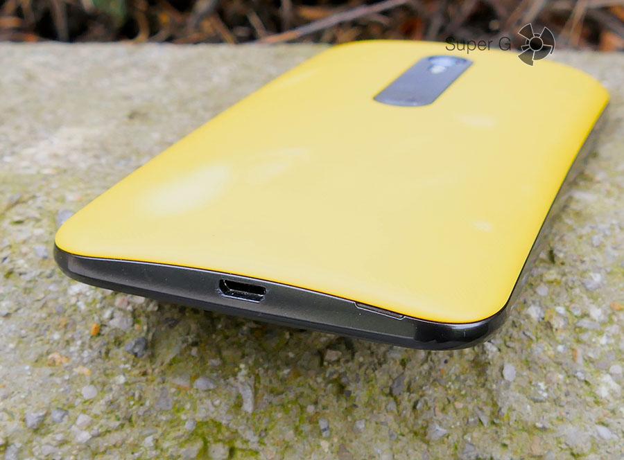 Micro USB Moto G поддерживает подключение OTG