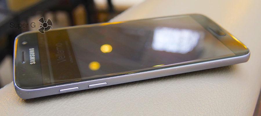Кнопки регулировки громкости и включения в Samsung Galaxy S7