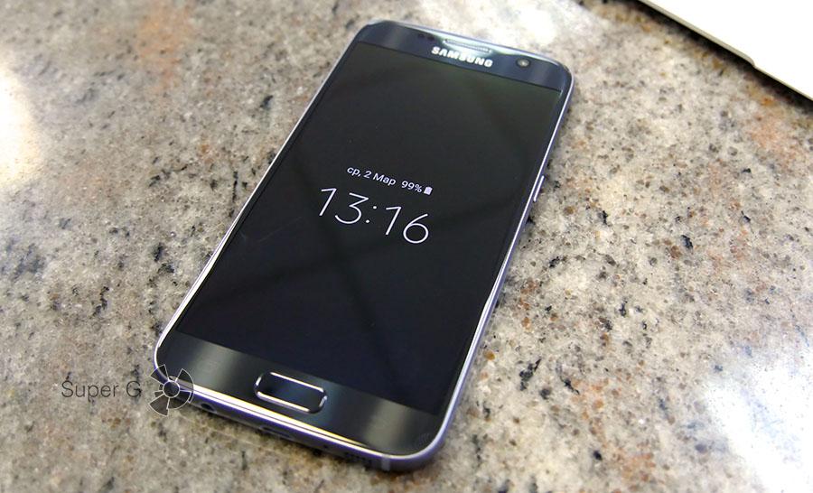 Always On Display в Samsung Galaxy S7
