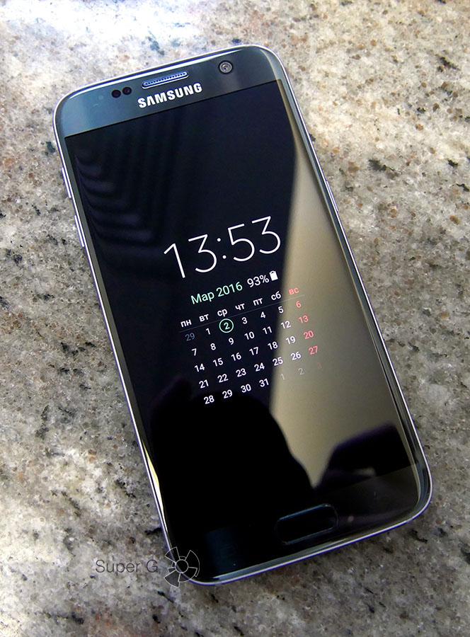 Календарь Samsung Galaxy S7