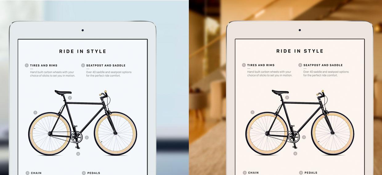 TrueTone в планшете iPad Pro 9.7