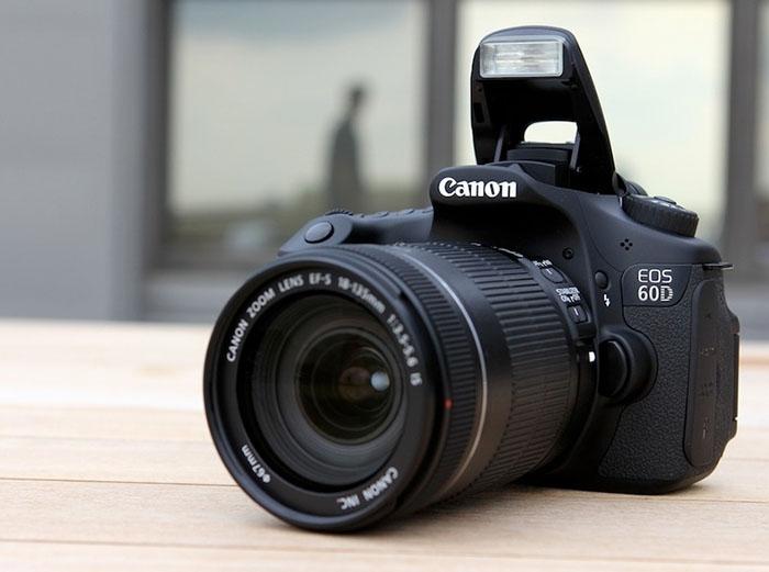 Мой фотоаппарат Canon 60D