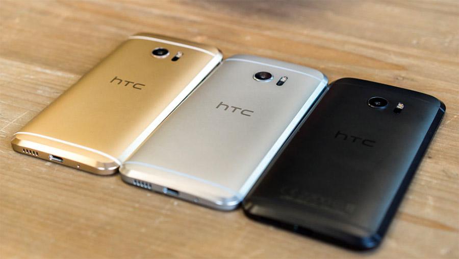 Расцветки корпуса HTC 10