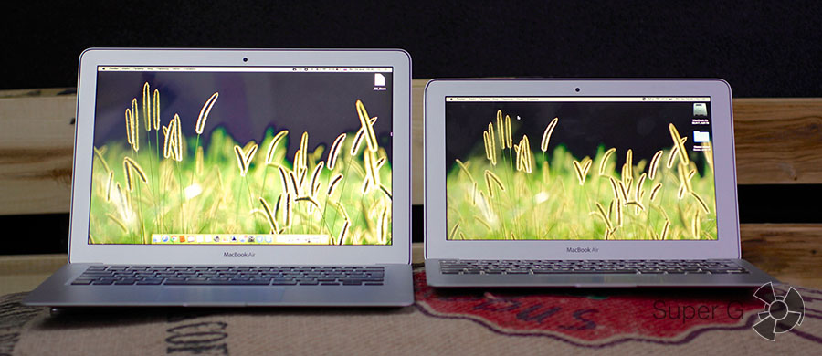 Тестирование экрана MacBook Air 13 MJVE2RU