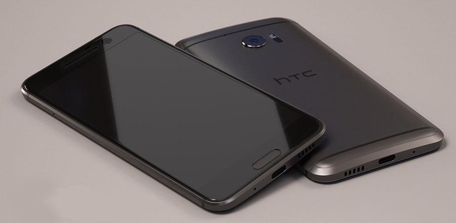 Черный HTC 10