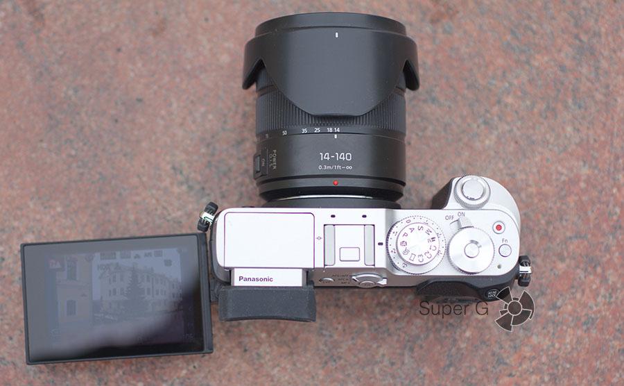 Съемка 4K видео на Panasonic DMC-GX8Н