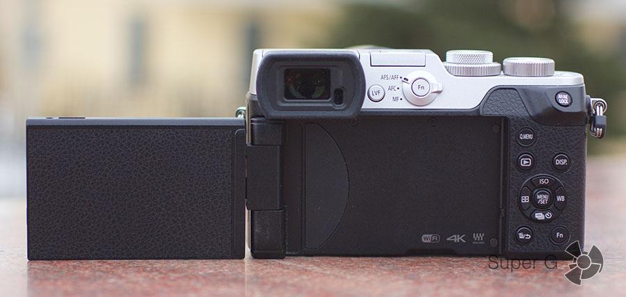 Panasonic DMC-GX8Н дисплей