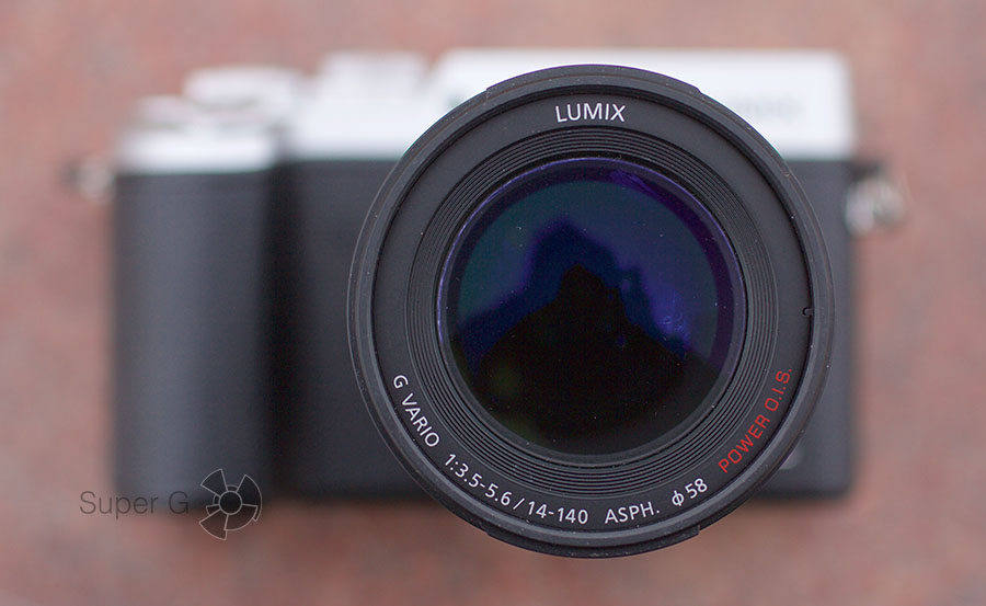 Объектив LUMIX G VARIO 14-140 мм / F3.5-5.6 ASPH. / POWER O.I.S. для Panasonic DMC-GX8Н