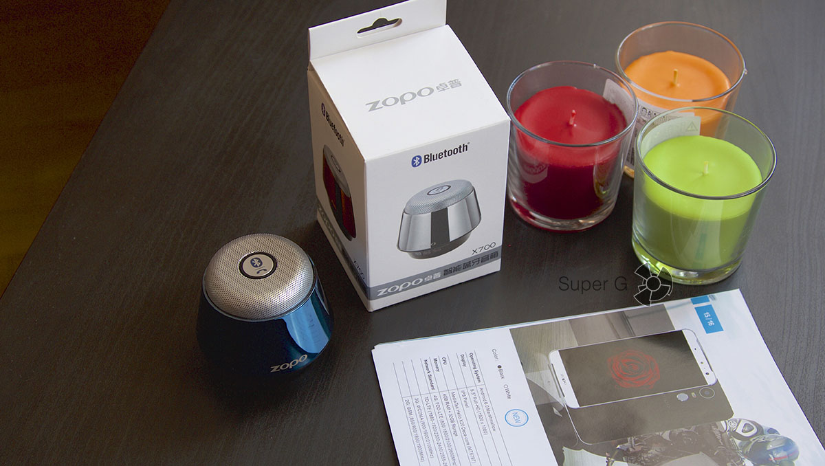 Распаковка и инструкция Zopo X700