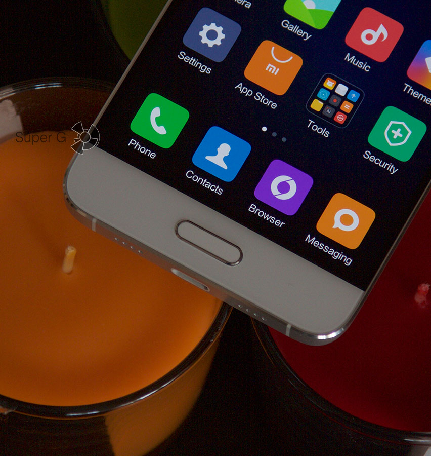 Сенсорные клавиши Xiaomi Mi5