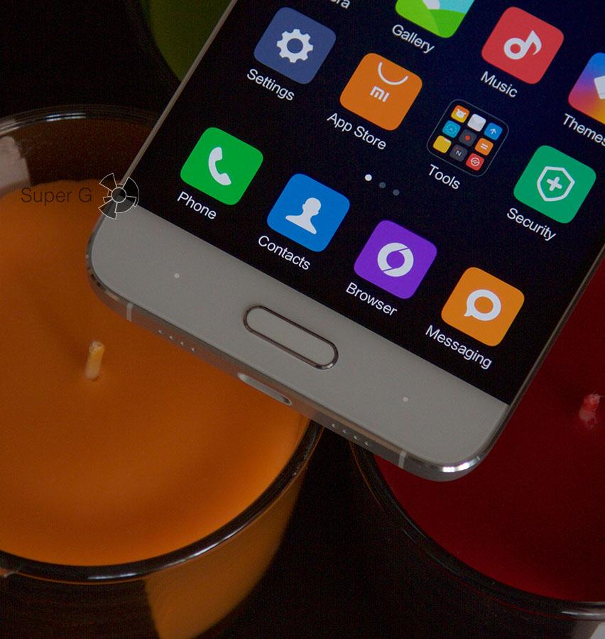 Подсветка сенсорных кнопок Xiaomi Mi5