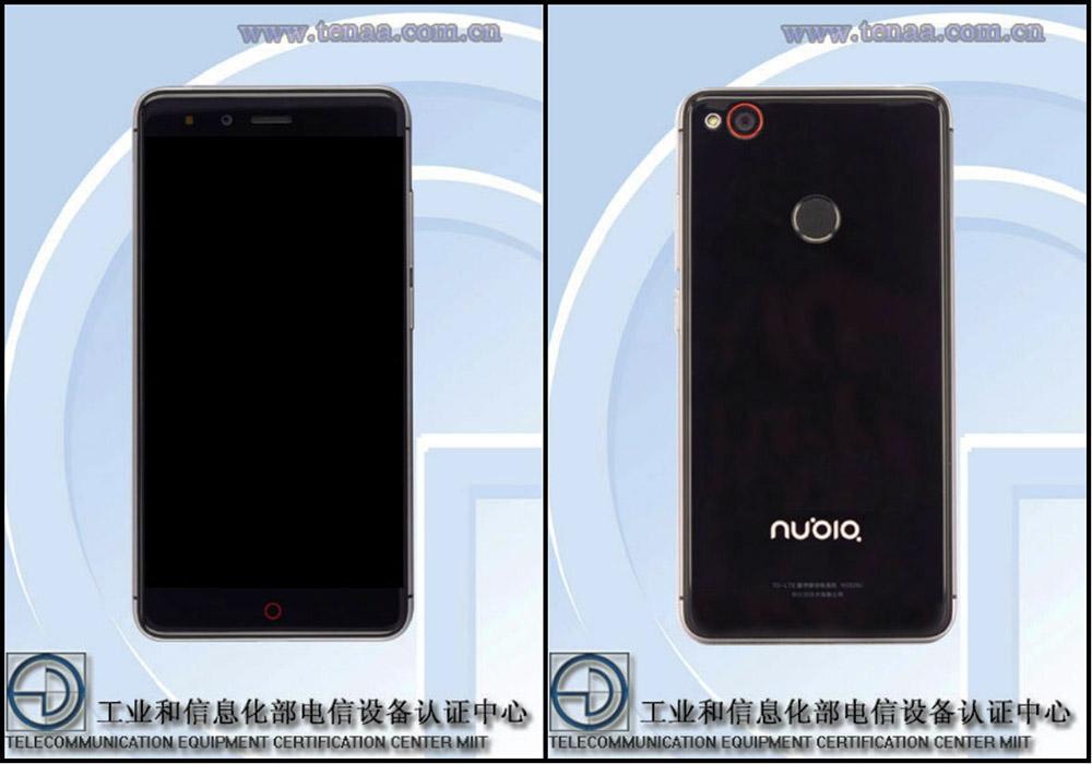 Nubia Z11 mini черный