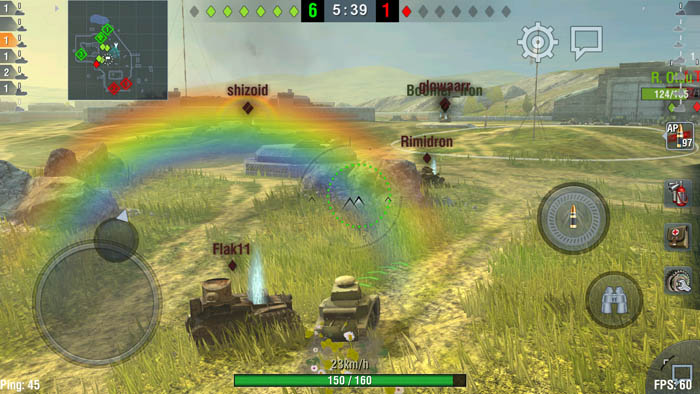 World of Tanks Blitz для Xiaomi Mi5